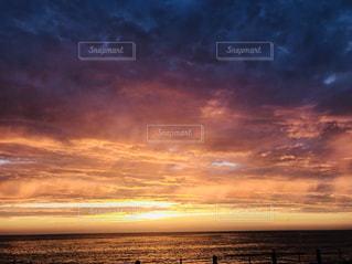朝方の空の写真・画像素材[1709843]