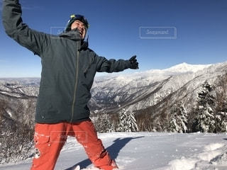 男性,雪,スノーボード,ボード