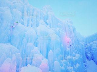 *氷濤まつりで見た氷の壁*の写真・画像素材[1779401]