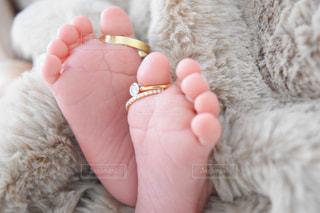 赤ちゃんの足の写真・画像素材[1804376]