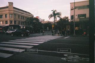 サンタモニカの通りの写真・画像素材[2914011]