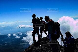 富士山にての写真・画像素材[1713302]