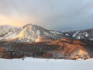 自然,風景,空,冬,雪,山,樹木,スキー
