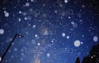 雪星の写真・画像素材[1713064]