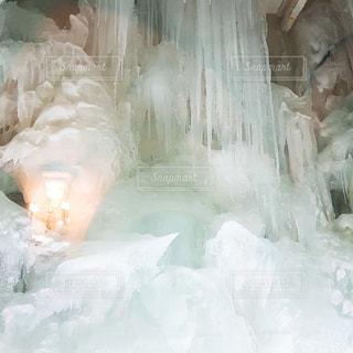 雪氷アートの写真・画像素材[1732383]