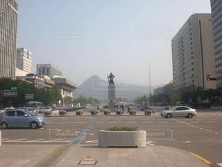 ソウル中心部の写真・画像素材[2042278]