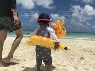 海,子供,ハワイ