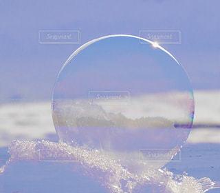 フローズン バブルの写真・画像素材[1737510]