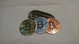 仮想通貨の写真・画像素材[1067079]