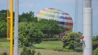 気球準備中の写真・画像素材[1100263]