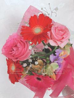 ピンクの花束🌸の写真・画像素材[1885509]