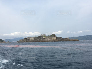 軍艦島の写真・画像素材[1027718]