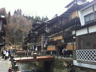 銀山温泉の写真・画像素材[1027736]