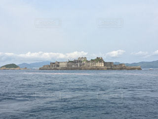 軍艦島の写真・画像素材[1045704]