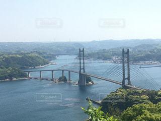 呼子近くの橋の写真・画像素材[1045705]