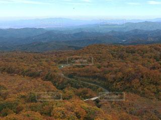 鳥海山の紅葉の写真・画像素材[1045707]