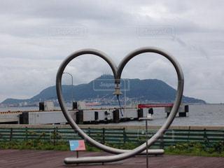 函館港のモニュメントの写真・画像素材[1045750]