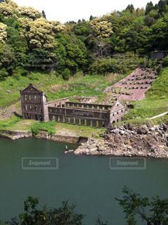 発電所跡 曽木の滝の写真・画像素材[1045783]