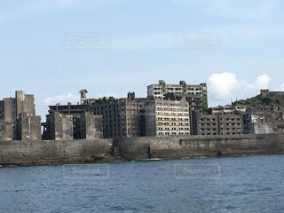 軍艦島の写真・画像素材[1196574]