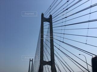 吊り橋の写真・画像素材[1219288]