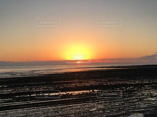 海,空,太陽,光,宮崎,日の出,初日の出,鬼の洗濯板