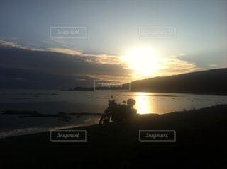 自然,空,太陽,雲,海岸,光,秋田,男鹿半島