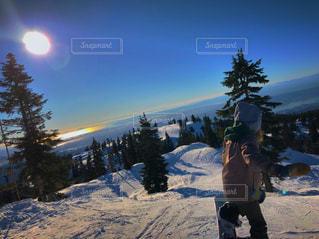 自然,絶景,雪山,雲海,ゲレンデ,カナダ,スノーボード,Canada,snowboarding