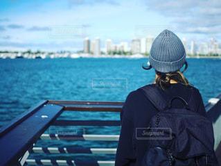自然,風景,海,海外,ビーチ,後ろ姿,人物,スケートボード,スケボー,海外生活,トリップ,うしろすがた