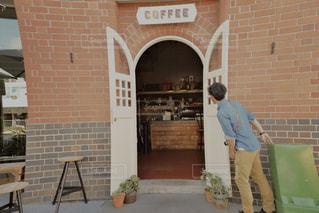 カフェ,風景,コーヒー,後ろ姿,人物,覗き見,海外生活,こっそり,うしろすがた