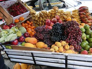 カラフル,フルーツ,さくらんぼ,市場,りんご,マーケット,桃,チェリー,ペルー,パパイヤ,青リンゴ,ぶどう,バナナ