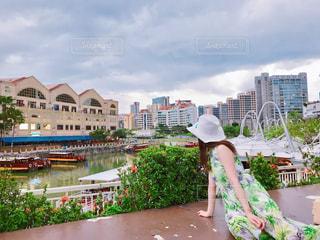 建物,夜景,川,景色,楽しい,美しい,旅行,シンガポール,レストラン,海外旅行,ショッピング,パステルカラー,人気,オープンテラス,クラーク・キー
