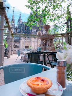 宮殿内のカフェの写真・画像素材[2252055]