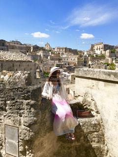 イタリアのマテーラにての写真・画像素材[2377977]