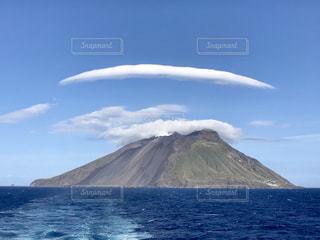 珍しい雲の写真・画像素材[2413417]