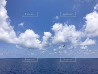 雲いっぱいの写真・画像素材[2413481]