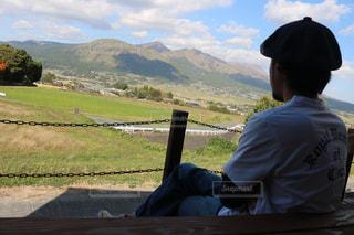男性,自然,風景,屋外,山,景色,男,撮影場所