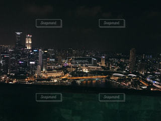 夜景,絶景,ライトアップ,シンガポール,マリーナベイサンズ,最上階,ナイトプール,インスタ映え