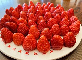 赤,いちご,レッド,ストロベリー,イチゴ,お皿いっぱい