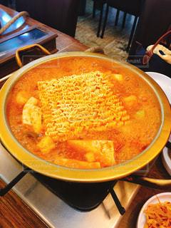 本場韓国のチゲ鍋の写真・画像素材[1721688]