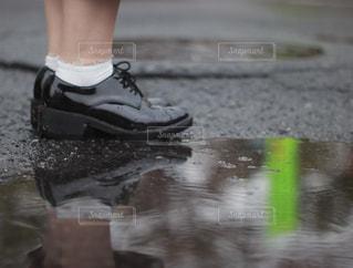 自然,風景,雨,梅雨,天気,水溜まり,雨の日