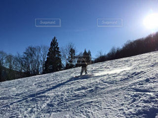 自然,空,雪,屋外,太陽,晴れ,女,背景,旅行,スキー,スノボ,長野,天気,スキー場,スノーボード,斜面,国内旅行,白馬,白銀の世界