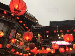 雨,屋外,海外,台湾,九份,ジブリ,千と千尋の神隠し