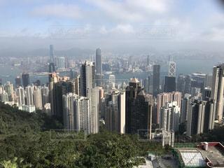 空,建物,ビル,海外,景色,観光,都会,旅行,香港,マカオ,ビル群