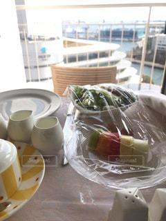 食べ物,コーヒー,食事,朝食,テーブル,レストラン,みなとみらい,ルームサービス