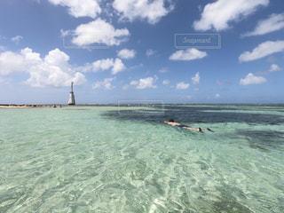 空,ビーチ,リゾート,ニューカレドニア,海外旅行