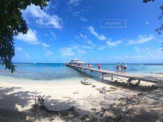 空,ビーチ,船,リゾート,ニューカレドニア,海外旅行