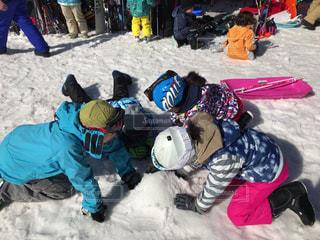 屋外,子供,雪遊び,スキー場