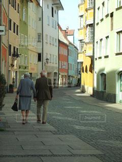 夫婦,ドイツ,フッセン,ドイツの田舎の老夫婦,素敵な老夫婦