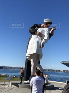 海,船,アメリカ,旅,Kiss,カリフォルニア,サンディエゴ