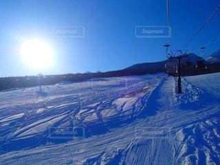 晴れ,スキー場,ウインタースポーツ